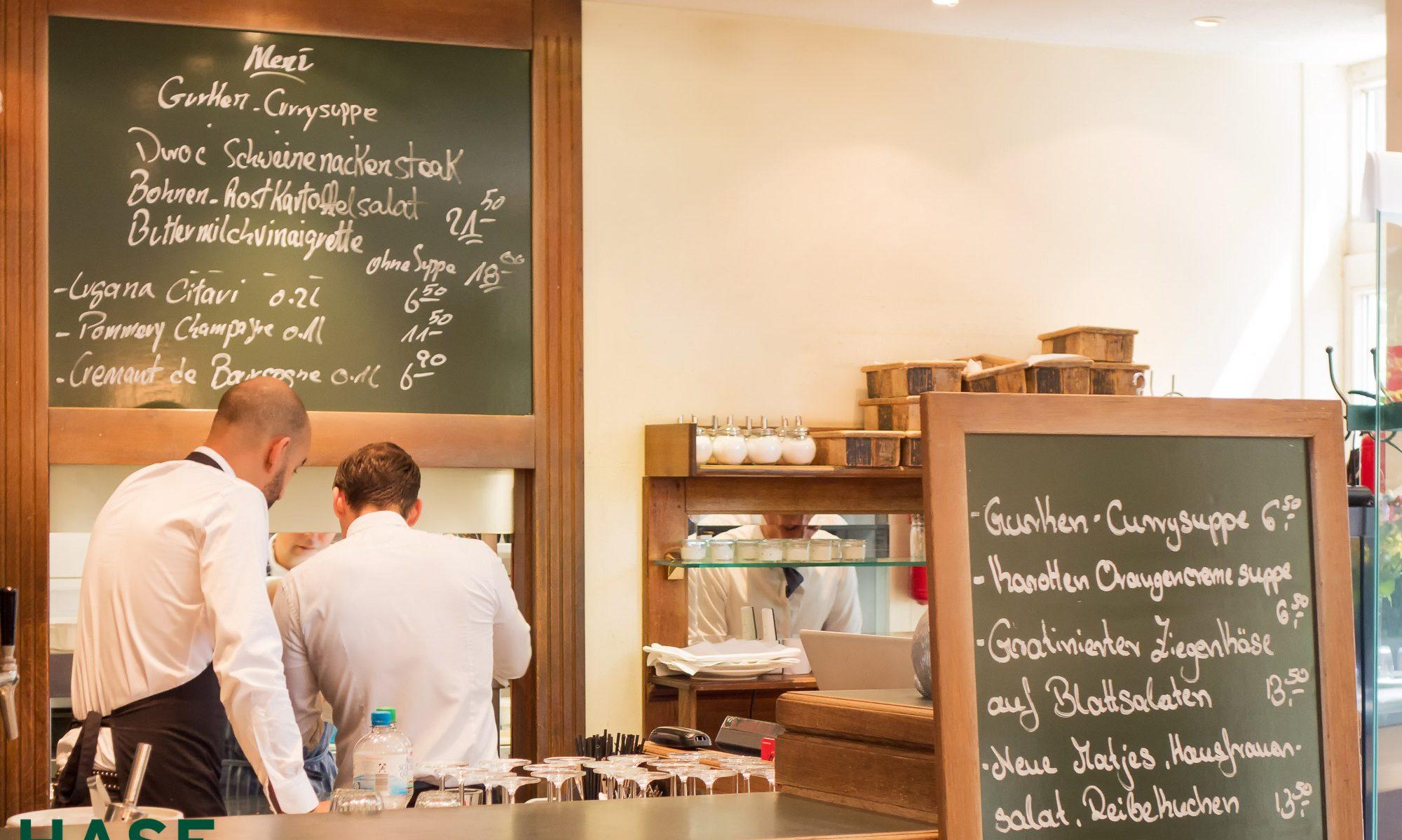 Hase Restaurant in Köln Teamwork