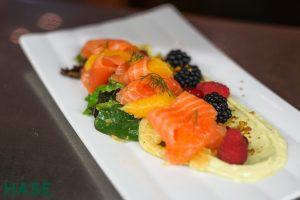 Speisenkarte: Gebeizter Lachs - HASE Restaurant