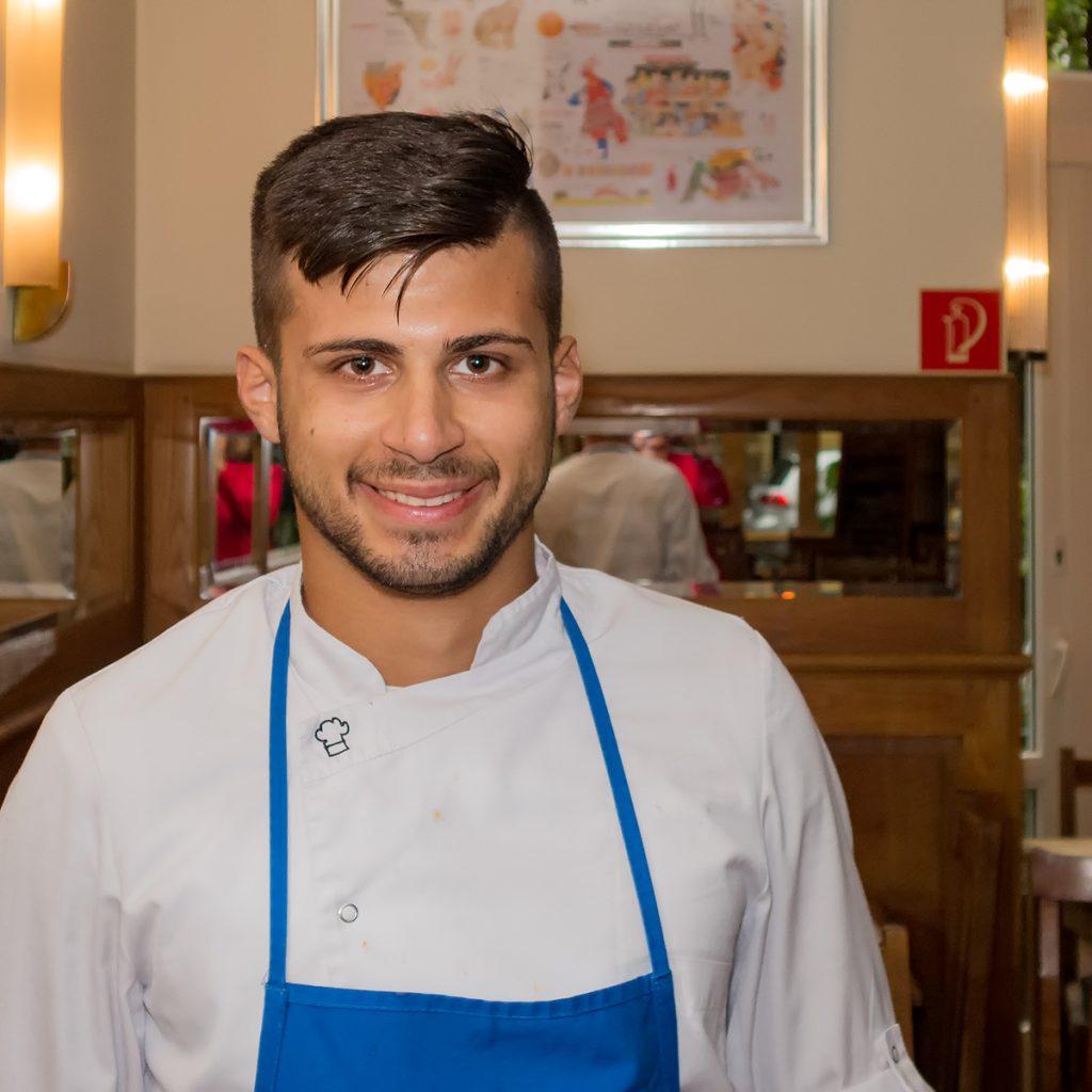 Leonardo Rico - Koch im HASE Restaurant
