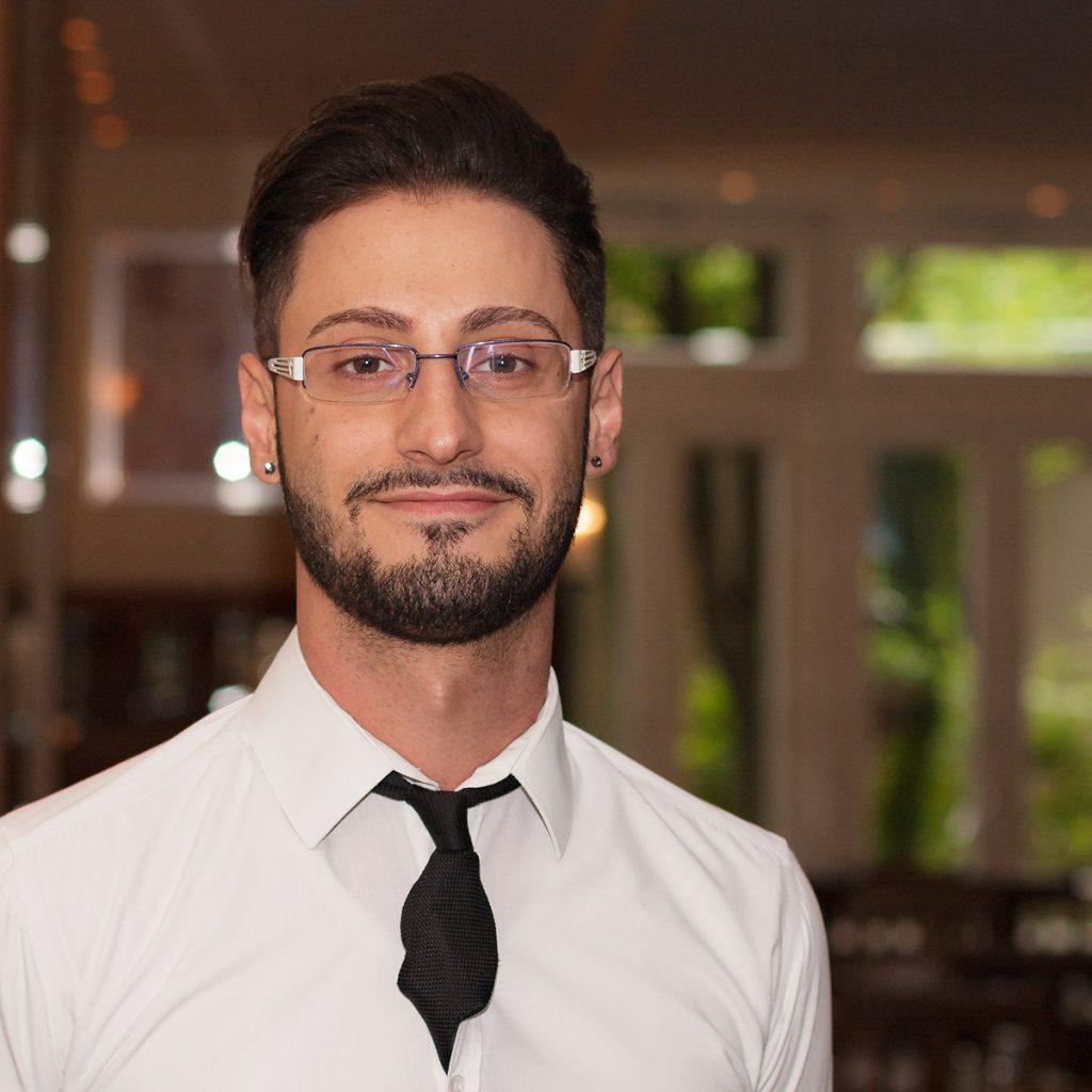Salvatore Vittichie - Bartender im HASE Restaurant
